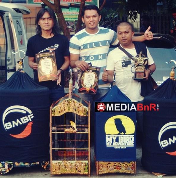 Singo Barong BMBF Peserta Terjauh Dari Padang
