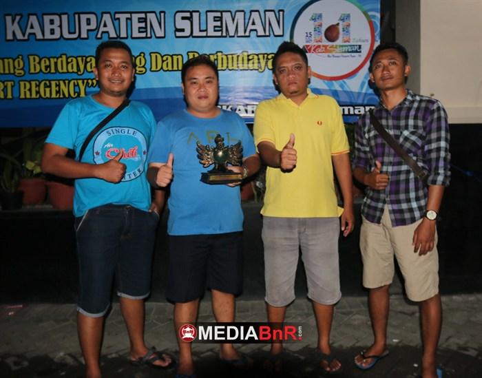 Sinyo Air Club (Ketua BnR Madiun). Jalankan Silaturahmi, Green Warior Stabil di Jalur Juara