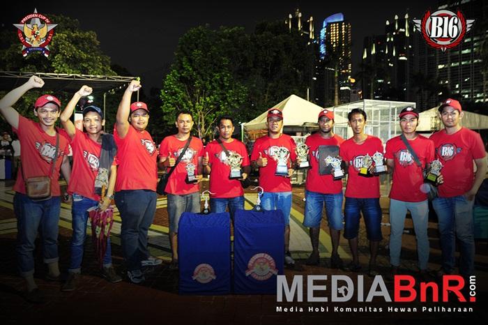 Solidaritas B16 TEAM rebut Piala Presiden