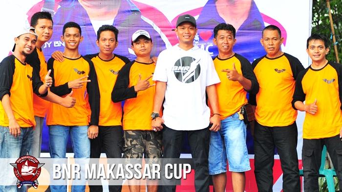 Solidaritas KMS Soppeng ramaikan gelaran BnR Makassar Cup