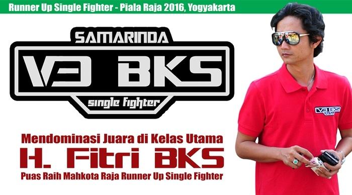 Mendominasi Juara Juara di Kelas Utama, H. Fitri BKS Puas Raih Mahkota Raja Runner Up Single Fighter