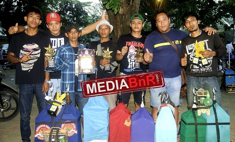 Squad juara RG BF sukses merayakan   kemenangan di Kelas Pleci
