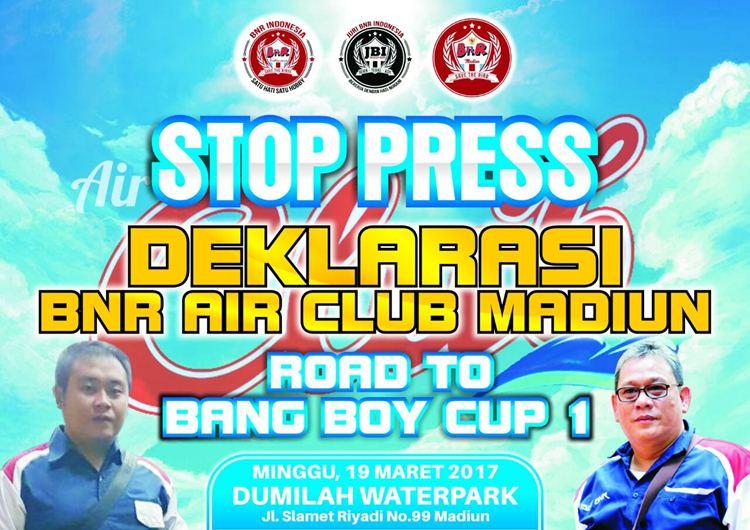 Stop Press Deklerasi BnR Air Club Madiun