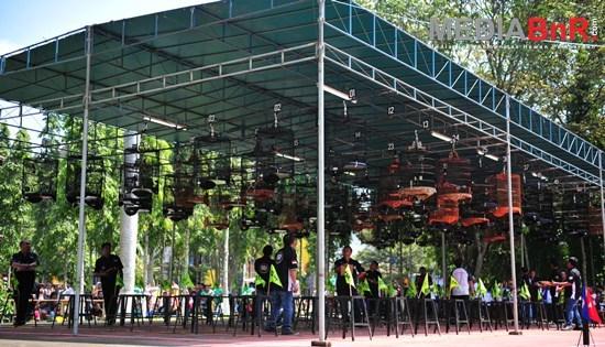 Peserta Meledak di Lomba Akbar Soeharto CUP III