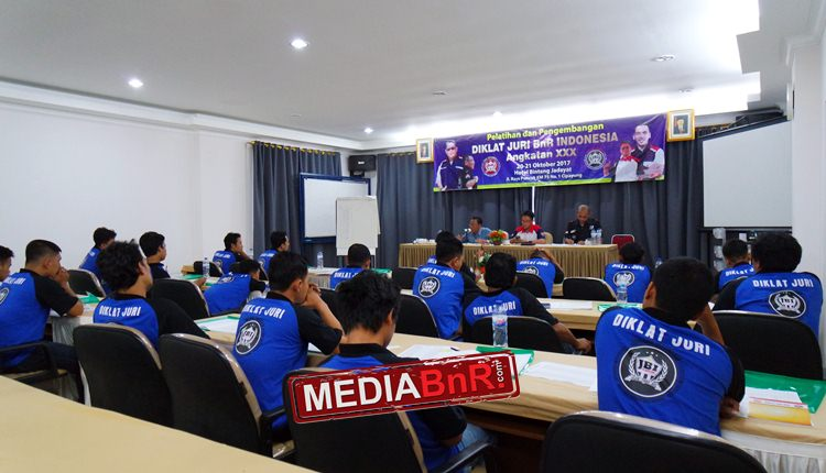 32 Calon Juri Ikuti Diklat Juri BnR Indonesia di Cipayung – Bogor