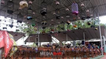 Suasana Kelas Love Bird di BnR Koblen Surabaya 64 Gantangan Dipenuhi Gaco Peserta