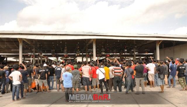 Suasana Lomba Piala Merapi