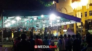 Suasana Midnight Show BOB Balibu