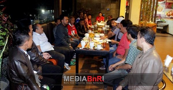 Suasana Pertemuan Jelang Pembentukan Pengurus BnR Indonesia Cabang Malang Bersama Tokoh Perburungan dan Kicaumania Malang Raya