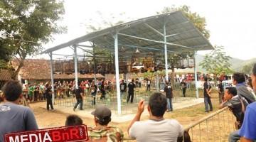 Suasana Piala WR Soepratman- Kelas  Murai batu full Gantangan