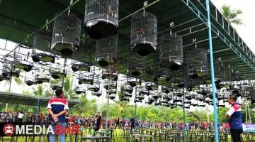 Suasana lomba Soeharto Cup IV di Borobudur