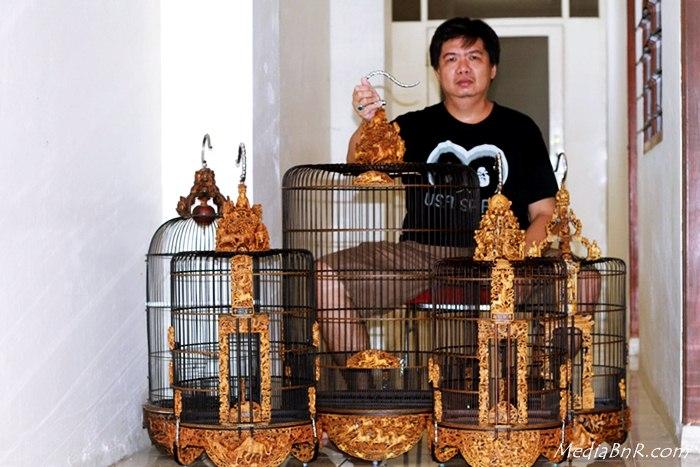 Sugi Wijaya – Terus Berburu Sangkar Cungko Sembari Ternak Love Bird Jawara