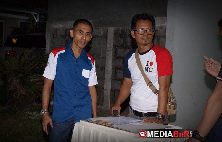 Sultan Arief (Ketua BnR Makassar) dan Andres Roni (Ketua KMM)