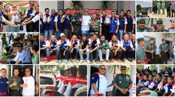 TNI Bersama BnR di TMMD 100 Purwakarta