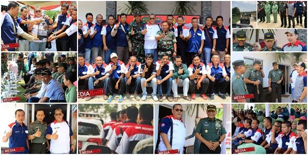 """TNI Bersama BnR Dalam Rangka TMMD-100 """"Konservasi Pelepasan Burung Ke Alam Liar"""" Purwakarta"""