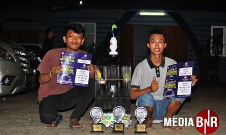 Love Bird Anugrah Nyeri, Cucak Hijau Arwana Curi Perhatian di Pesta Demokrasi Damai di Tangerang