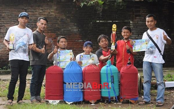 Tambak BC sukses hantarkan Donxing,Jarong dan Pinky ke jalur juara (Foto: Rizal/MediaBnR.Com)