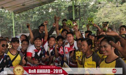 BnR Award 2019 Memunculkan  Jawara Terbaik
