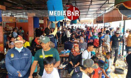 Diluar Prediksi, Launching RAB Tenda Kuliner Membludak