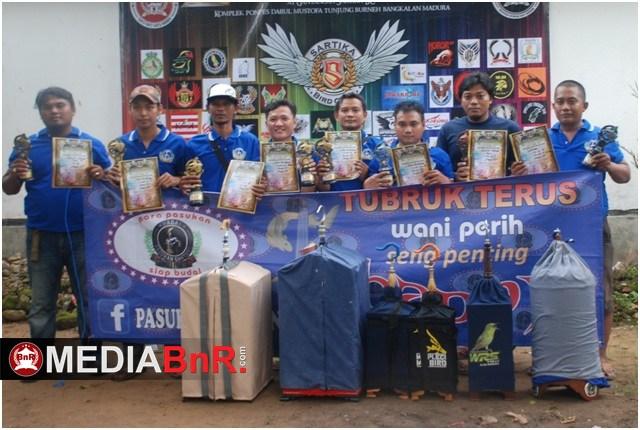 Tim Pagat SF sukses borong Juara