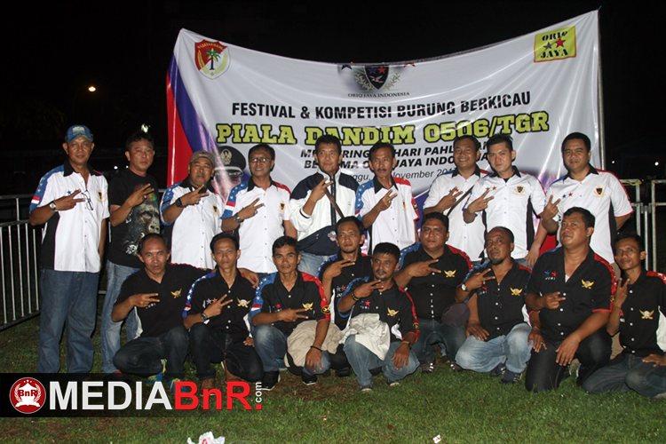 Tim Sukses Piala Dandim Bersama Oriq Jaya