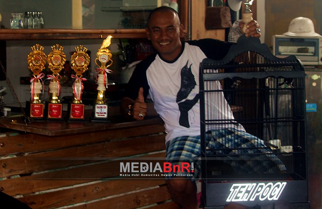 Mr. Andry Gethuk Berbagi Tips Kacer Teh Poci