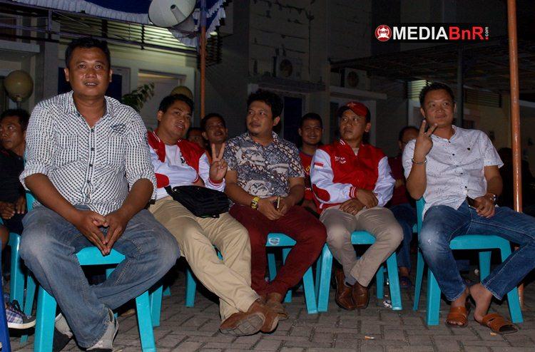 Turut Hadir Rano Rasya, Ketua Ronggolawe DPW Sulselr (tengah)
