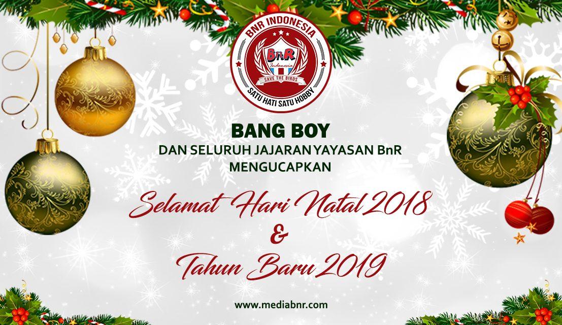 Ucapan Selamat Natal & Tahun Baru 2019