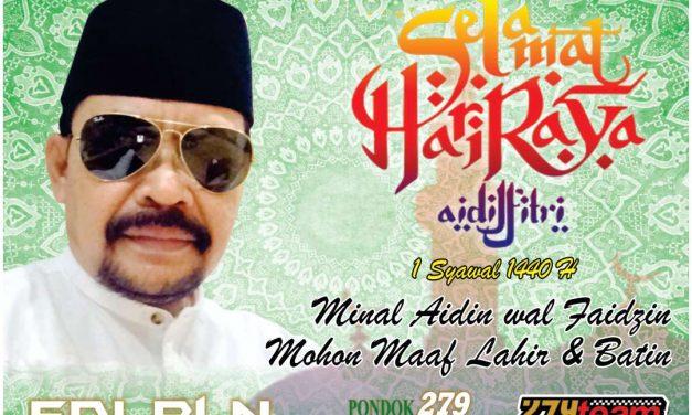 Edy PLN : Selamat Hari Raya Idul Fitri 1440 H, Mohon Maaf Lahir dan Bathin