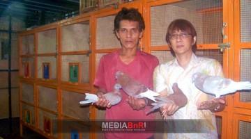 Untung Andy (kacamata) New Casanova Team Cirebon Siap Orbitkan Piyikan