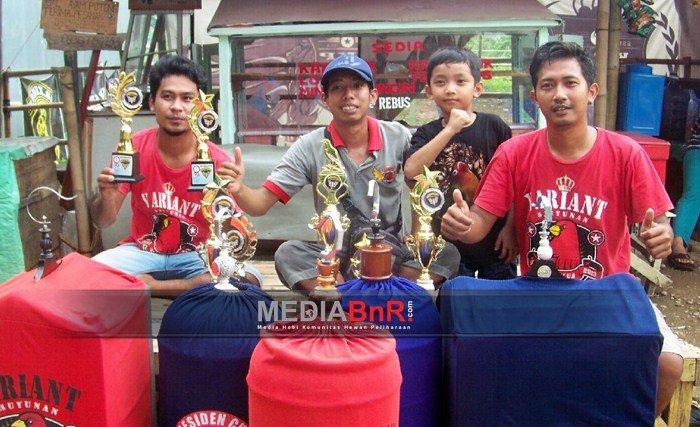 Varian SF Borong Juara di Love Bird dan Kenari