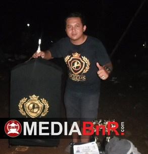 Walaupun belum berhasil dan tampil maksimal, Taufiq - Mr. Deki dari Palembang, puas Hanoman bisa turun di BnR Award 2017