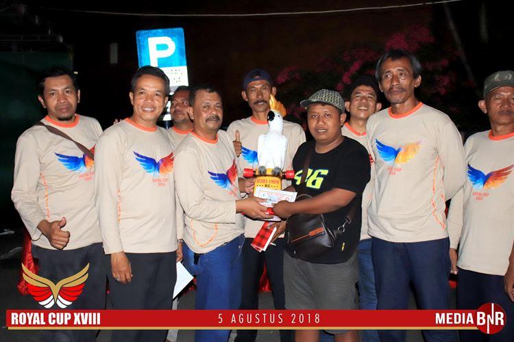 Alvin Team Raih BC Terbaik, Sien Ronny Juara SF di Royal Cup XVIII