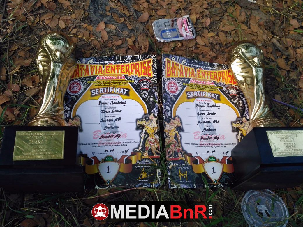 prestasi yang diraih Empu Gandring dua kali Juara 1