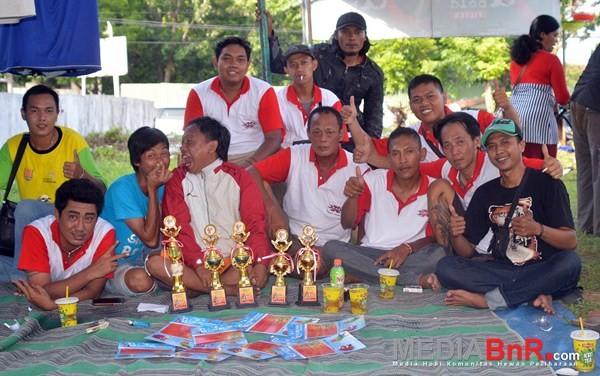 XXX AJT Dominasi Juara, Kebo Hitam SF Borong Juara