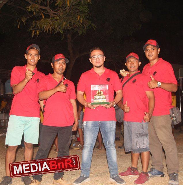 Yogi Kuda Hitam Bali & MB The Rock Juara 1 Kelas  Maharaja