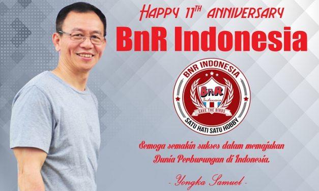 Yongka Samuel : 10th Anniversary Celebration BNR INDONESIA