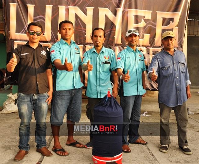 Zaidan milik Nandar BF Damai  Indonesia cetak Hattrik