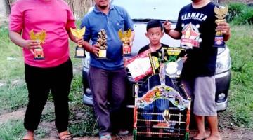 Zainal Maskur bersama Iman Permata bangga denga kinerja Reog yang berhasil raih juara 1 di empat EO berbeda dalam satu hari