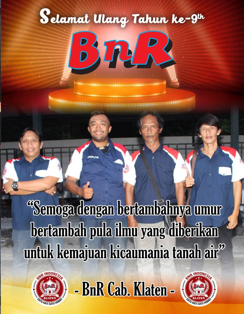 BnR Klaten – Anniversary BnR 9