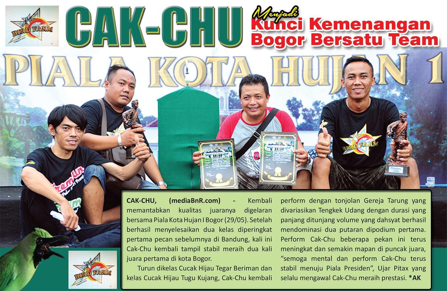 Cak Chu : Menjadi Kunci Kemenangan Bogor Bersatu Team