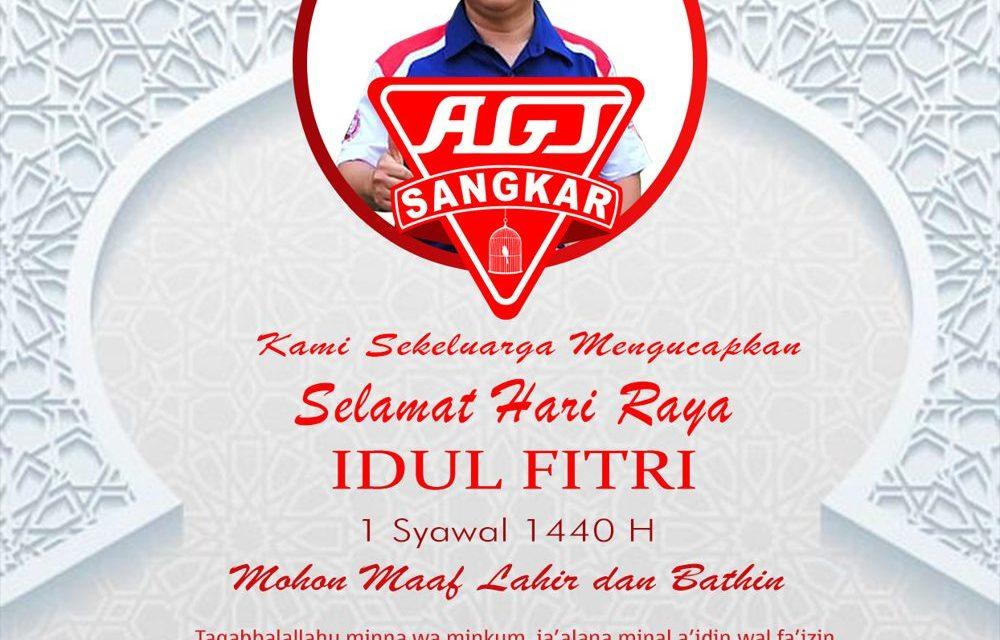 AGJ Sangkar : Selamat Hari Raya Idul Fitri 1440 H, Mohon Maaf Lahir dan Bathin