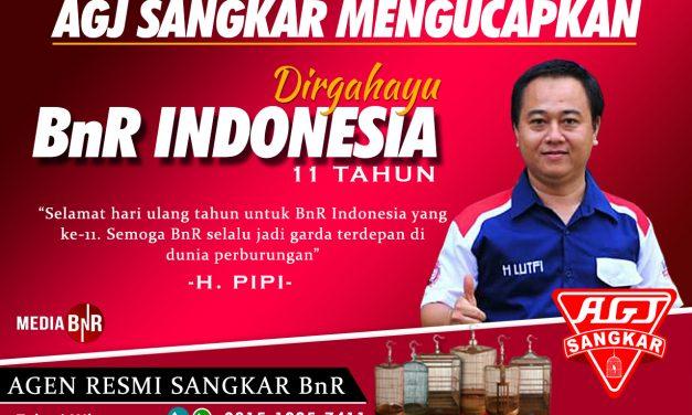 AGJ Sangkar : Dirgahayu BnR Indonesia Ke-11