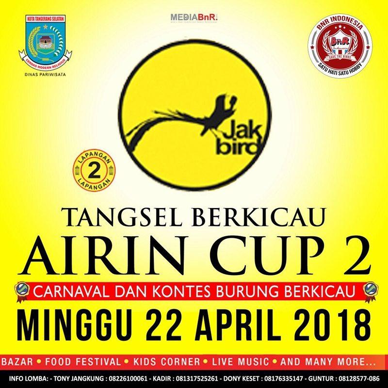 Airin Cup 2 Kembali Bersama BnR