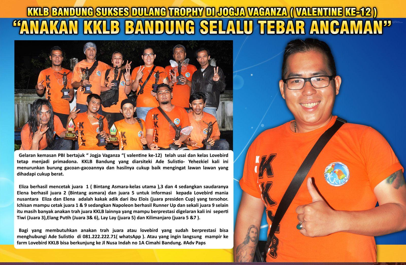 KKLB Bandung Sukses Dulang Trophy di Jogja Vaganza