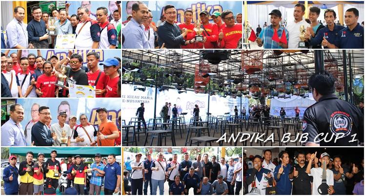 Ajang Silaturahmi Kicaumania Se-Banten dan Se-Nusantara Andika BJB Cup 1