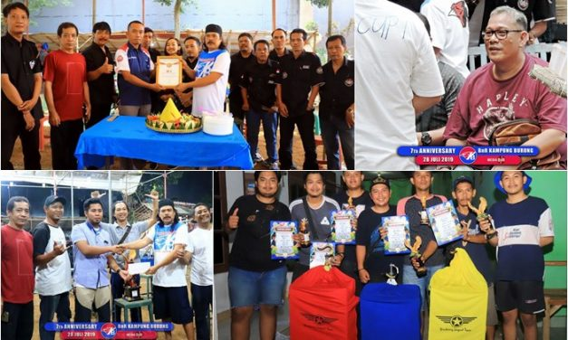 7th Anniversary  BnR Kampung Burung Dihadiri Bang Boy, Amunisi KPP SF raih BOB Kenari