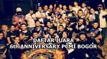 anniversary pcmi 6th chapter bogor