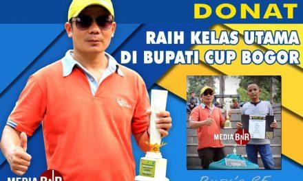 Raih Kelas Utama di Bupati Cup Bogor, Murai Batu Donat Naik Tahta