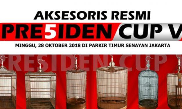 Peraturan dan Aksesoris Resmi PRESIDEN CUP V – 2018